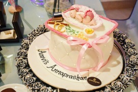 The Rice eating ceremony cake