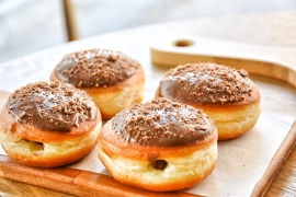 Nutella Donuts with Nutella Glaze