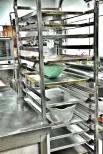 Gastronorm racks aka Bakery Trolley