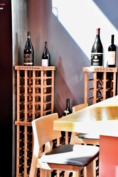 Range of Torres wines