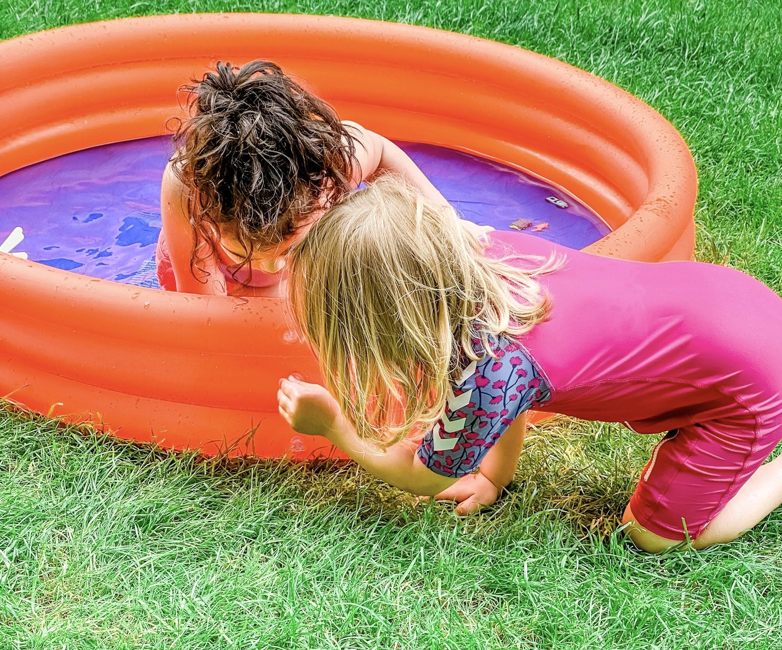 On A Normal Summer Day | A Day In The Summer Of 2020 In Germany | Kids Backyard Summer Fun